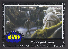 Topps Star Wars - Journey To The Force Awakens - Black Parallel Card # 54