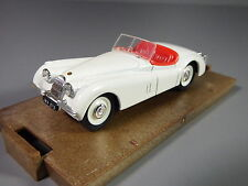 1/43 Brumm Jaguar XK120 Spider Open White Made in Como Italy R101