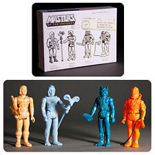 SDCC 2015 Masters of the Universe MOTU Prototype figures 4 pack
