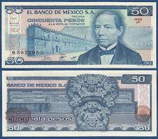 MEXIKO / MEXICO  50 Pesos  27.1.1981  UNC  P.73