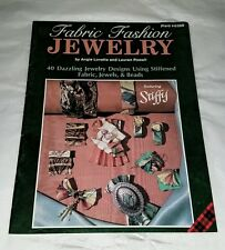 Plaid 8399 Fabric Fashion Jewelry Booklet 40 Dazzling Jewelry Designs