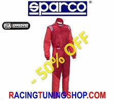 SPARCO RALLY RACING FIREPROOF SUIT SPARCO RS-5 SIZE 64 RS FIA 8856-2000 OVERALL