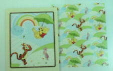 Disney Winnie the Pooh & Tigger Fabric panel & coordinating fabric blanket Kit