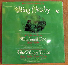 SEALED CHILDREN'S HOLIDAY LP: TWO FAVORITES BY BING CROSBY, ORSEN WELLES RE 1973