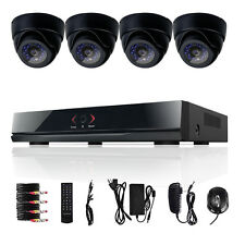 ELEC 8 Channel DVR HDMI 960H D1 Video CCTV 4 Indoor Security Cameras System