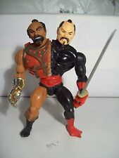 1980's He-Man Masters Of The Universe Custom Action Figure of Jitsu & Ninjor