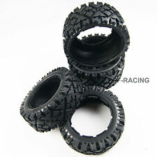 Front and Rear All Terrain Tire Tyre fit 1/5 HPI KM Baja 5B SS Rovan Buggy