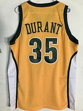Adidas Swingman NBA Jersey Seattle Supersonics Kevin Durant Gold HWC sz M