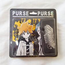 USA Seller NEW Hitman Reborn Anime Black Cartoon Wallet - Quick Shipping