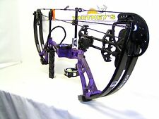 Fred Bear 2016 Cruzer Purple Bow Left Hand Package  5-70#  12-30""