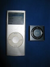 Apple iPod Lot for Parts - Nano 2nd Gen 4GB All99 & Shuffle 4th Gen 4GB A1373