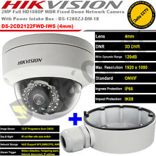 HIKvision DS-2CD2122FWD-IWS 2MP 4MM 30M IR Wireless Vandal Proof IP Dome Camera