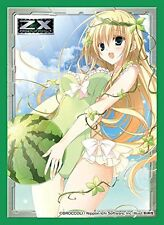 Z/X Zillions of Enemy X Mid Summer Budding Basil Character Card Guard Sleeves