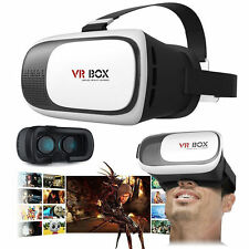 3D Virtual Reality VR Glasses Headset Box Helmet Remote for iPhone 5 6S Samsung