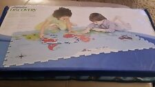 Map of World Globe Play Mat Jigsaw Foam Floor Tiles Kids Interactive learning