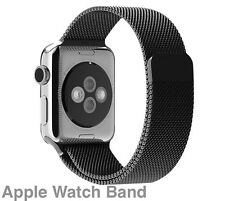 Apple Watch Black Milanese Magnetic Stainless Steel iWatch Band Strap 42mm