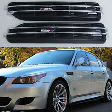 ///M Air Flow Side Fender Vents Mesh Sticker Grille For BMW 5 Series E60 E61 E39