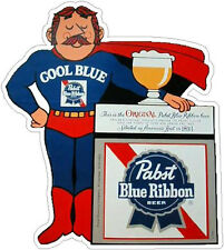 PABST BLUE RIBBON MAN VINYL STICKER (A1013)