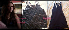 ASO Katherine Pierce the Vampire Diaries Forever 21 Zigzag cut out tank