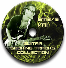 56 STEVE VAI STYLE MP3 HARD ROCK GUITAR BACKING JAM TRACKS CD LIBRARY