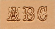 "Craftool 3/4"" (19 mm) Script Alphabet Set Tandy Leather 8139-00"