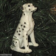 Large Sitting Dalmatian Spotted Dog - Custom Christmas Tree Ornament Decoration