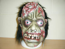 ZOMBIE FRANKENSTEIN MONSTER WITCH ADULT HALLOWEEN LATEX MASK FANCY DRESS COSTUME