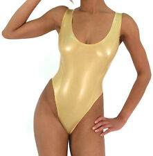 Latex Rubber Fitness clothing Transparent Sexy Fashion Suit Size:XS-XXL