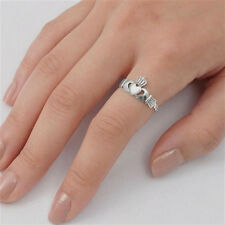 USA Seller Crown Claddagh Ring Sterling Silver 925 Best Deal Jewelry Size 6