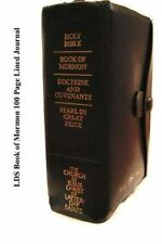 Lds Book of Mormon 100 Page Lined Journal Blank 100 Page Lined ... 9781506182926
