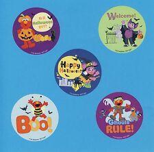15 Sesame Street Halloween- Large Stickers - Elmo, Count, Abby Cadabby