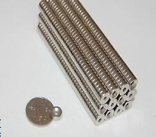 50pcs Strong Ring Magnet D 10*3mm Countersunk Hole:3mm Rare Earth Neodymium N38