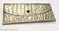 snake skin Womens Organiser wallets 8 credit card slots 3 checkbook slots