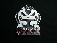 GTI FAST Evil Rabbit Car Logo Emblem Badge VW Sticker Accessories Volkswagen