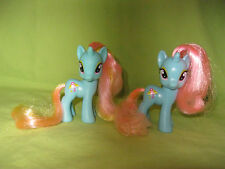 G4 My Little Pony 2011 FiM Single & Canterlot DEWDROP DAZZLE Lot of 2 Variations