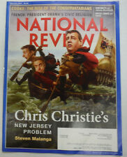 National Review Magazine Chris Christie & Cooke & French March 2015 051915R2