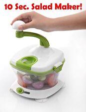Salad Maker Vegetable Cutter Fruit Slicer Spiral Chopper Kitchen Mandoline Dicer