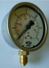 Air / Water Pressure Gauge - 6 bar, Filled (PG6B)