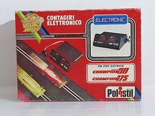 POLISTIL CHAMPION 175 E 80 A212 CONTAGIRI ELETTRONICO PISTA ELETTRICA SLOT CAR