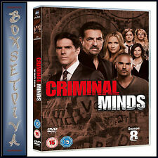 CRIMINAL MINDS -COMPLETE SERIES SEASON 8 **BRAND NEW DVD **