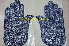 Steal deal 6 pieces @ 5.90 USD - reusable mehndi henna stencil rubber self stick