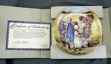 '' Now Thank We All Our God'' Collectible Plate by Cicely Mary Barker
