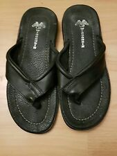 leather wisconston flipflops size 7