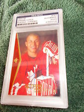 JEROME IGINLA HAND SIGNED 1994 UPPER DECK SP ROOKIE CARD PSA ENCAPSULATED