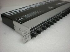 BEHRINGER MDX 2200 Compressor -Functions with Switch Crackle -USED -Unit price