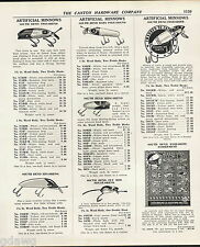 1939 ADVERT South Bend Fishing Lure Fish Obite Store Display Card Best O Luck