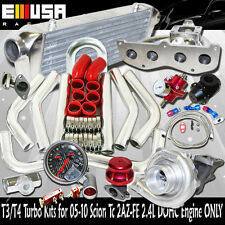SS Manifold Turbo Kit 04-08 Toyota RAV4 Base Sport 2AZ-FD I4 2.4L DOHC ENGINE