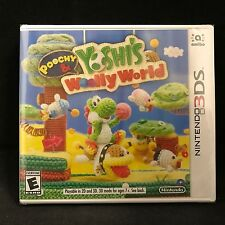 Poochy & Yoshi's Woolly World (Nintendo 3DS, 2017) BRAND NEW / US Version