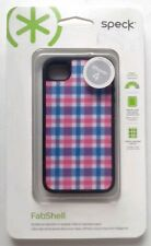 Speck FabShell Case -FreshMesh PinkBlue for iPhone 4s/4 #SPK-A0941 NIP