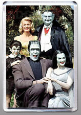 THE MUNSTERS LARGE FRIDGE MAGNET Style 'B' - CLASSIC RETRO COOL!